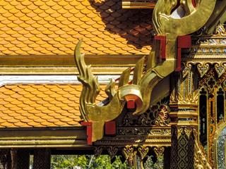 Pormenor decoração telhado
