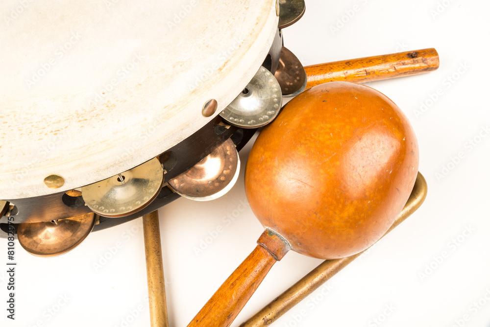 muzyczny muzyka bębenek baskijski - powiększenie