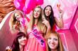 Women having bachelorette party in night club - 81083162