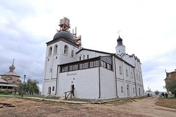Reconstruction of the Sergeevskaya church in Sviyazhsk