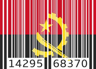 bar code flag angola