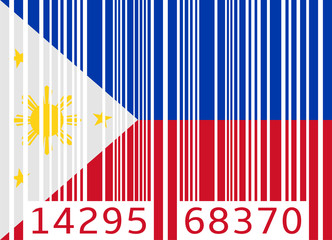 bar code flag philippines
