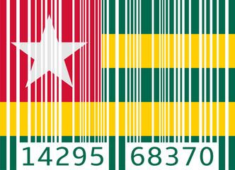 bar code flag togo
