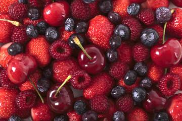 Mixed berries closeup © jc_studio