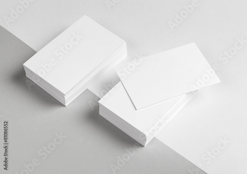 Leinwanddruck Bild Business card & Letterhead