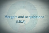 M&A (Mergers and acquisitions) poster