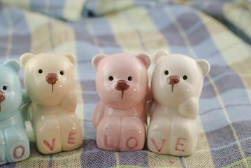 ceramics bears