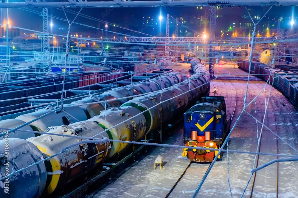 transport torowisko kolejowe - powiększenie