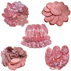 Assortment of Sausage.