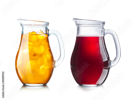 canvas print picture Two pitchers