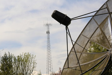 satellite antenna 005