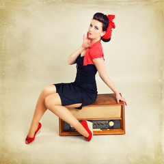 Pinup Girl Musik Radio