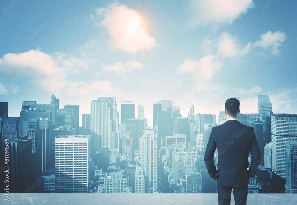 widok budynek przyszłość - powiększenie