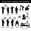 Dengue Fever Symptoms and Treatment Aedes Mosquito - 81091741