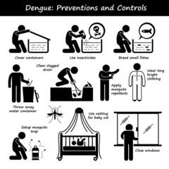 Dengue Fever Preventions Controls Aedes Mosquito Breeding