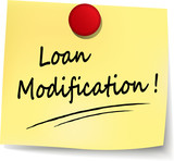 loan modification note poster