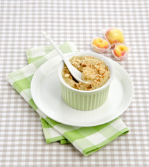 gratin with apples
