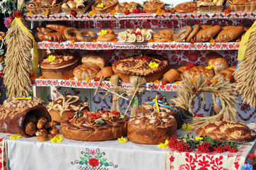 traditional ukrainian bakery Holiday dessert food