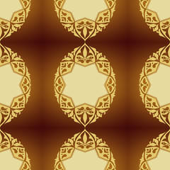 Abstract wallpaper. Seamless background for retro design