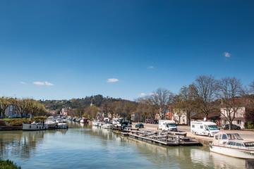 Moissac : le Canal de Garonne