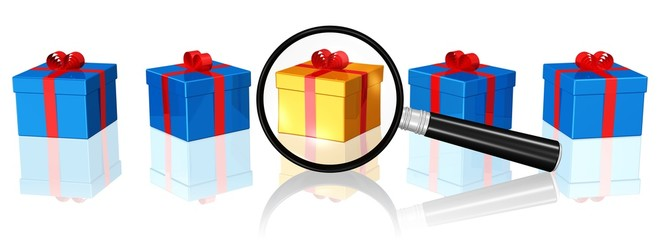 Geschenkpakete unter der Lupe - ein besonderes Geschenk