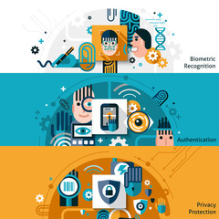 Biometric Authentication Banners