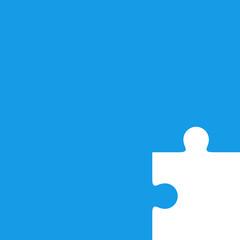 Fondo con pieza puzzle