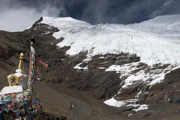 Nozing Khang Sa glacier, Tibet
