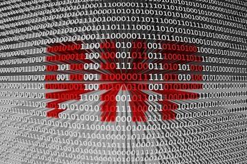 binary code php