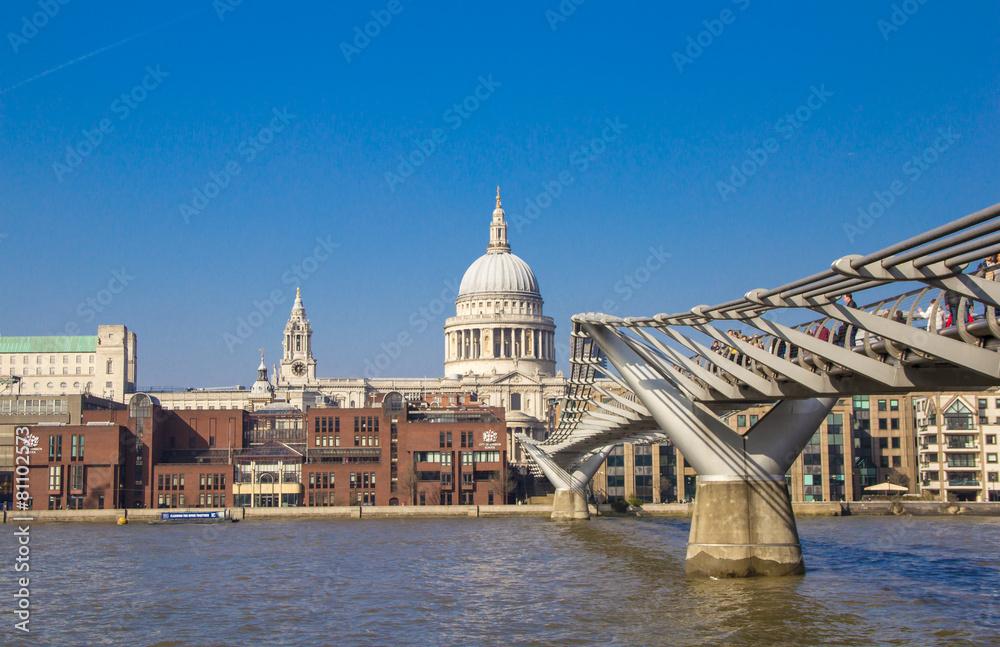 kościół punkt orientacyjny londyn - powiększenie