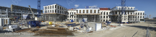 Zdjęcia na płótnie, fototapety, obrazy : Panorama de chantier