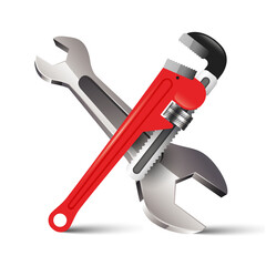 Pipe Wrench Key