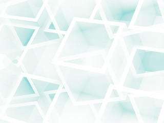 Abstract digital 3d background with cube pattern