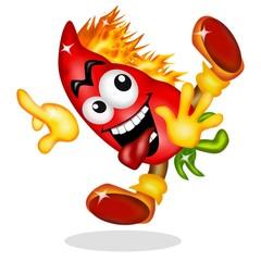 peperoncino rosso fuoco brivido