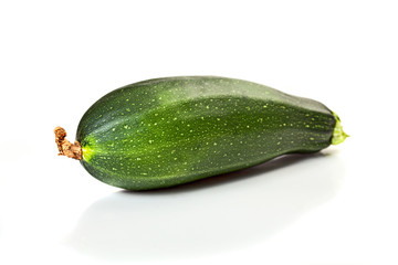 Zucchini courgette,isolated on white background
