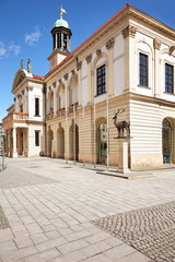 Altes Rathaus Magdeburg auf dem Alten Markt
