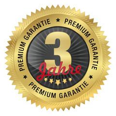 3 Jahre Premium Garantie
