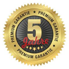 5 Jahre Premium Garantie5