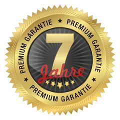 7 Jahre Premium Garantie