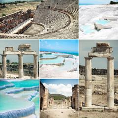 Pamukkale and Hierapolis ruins