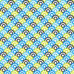 Different modern vector seamless pattern