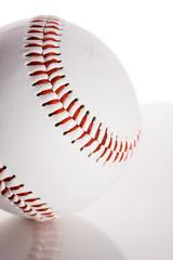 Baseball: Ball on Reflective Surface
