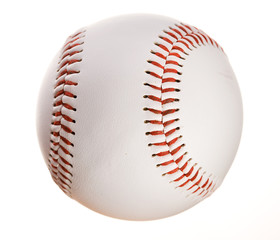 Baseball: Isolated on White Baseball