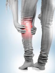 Human Calf pain