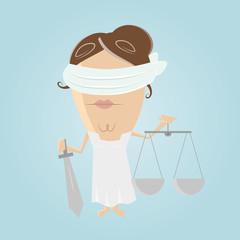 justitia justiz gerecht