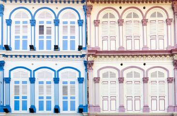 Singapore Shophouse Style