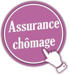 bouton assurance chômage