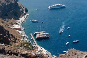Baia a Santorini