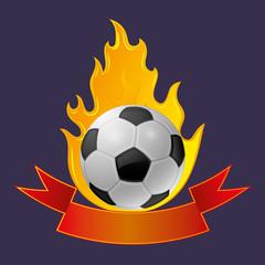 Vector sign. Football club.