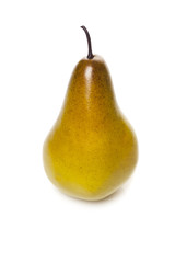 Pear isolated on a white